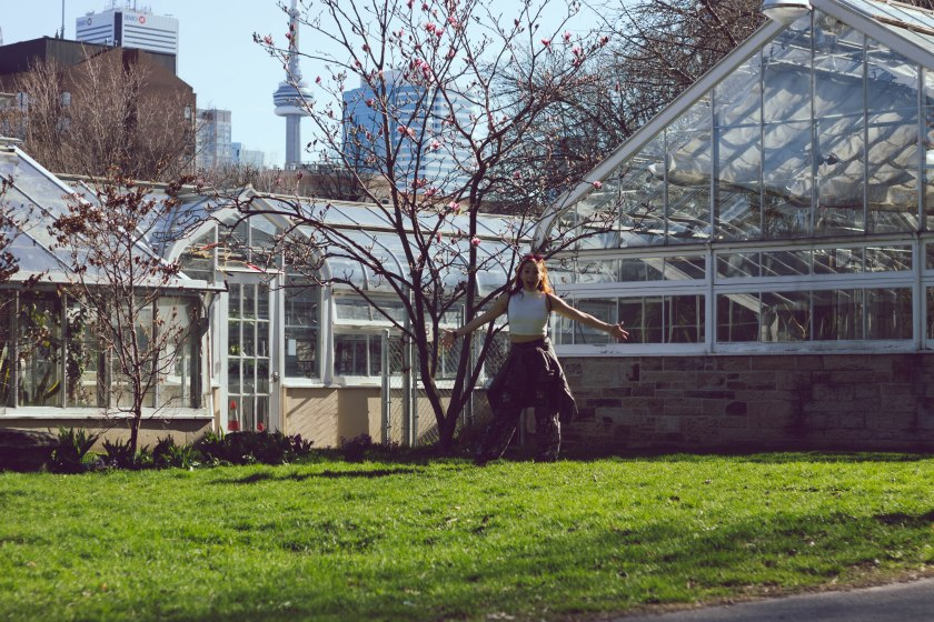 Model, woman, portrait, toronto, allan gardens, greenhouse