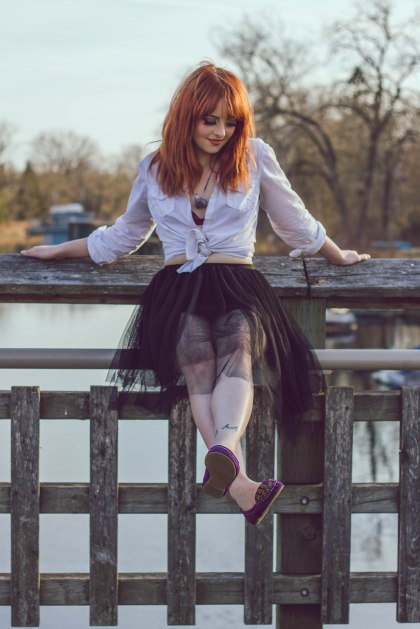 Model, redhead, toronto, portait, city, toronto island