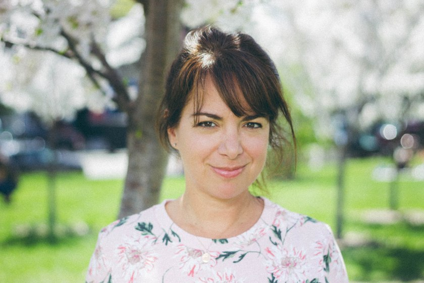 Portrait, Amy Rosen, Flower, Toronto Cooks, Trinity Bellwoods, Cherry Blossoms