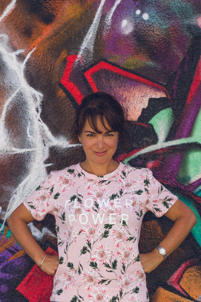 Portrait, Amy Rosen, Graffiti, Flower, Toronto Cooks