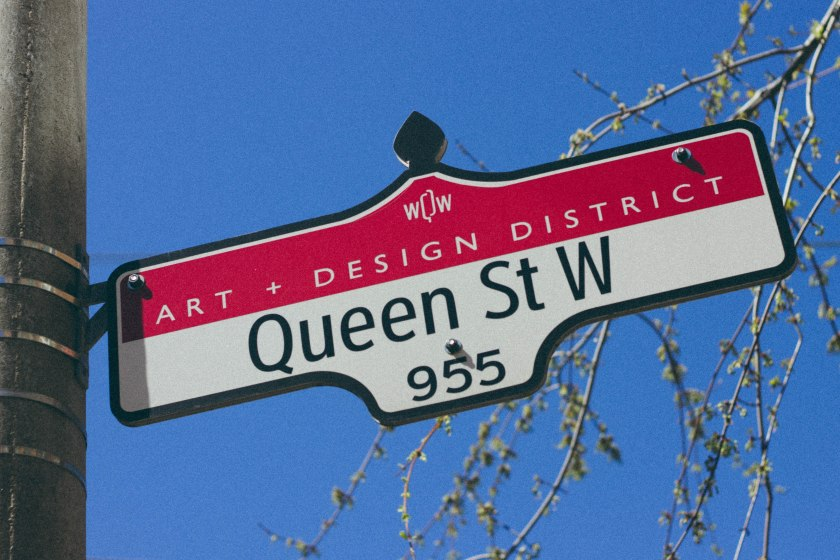 Toronto, City, Urban, Queen Street, West Queen West, Street, Sign, Art, Design, Neighbourhood