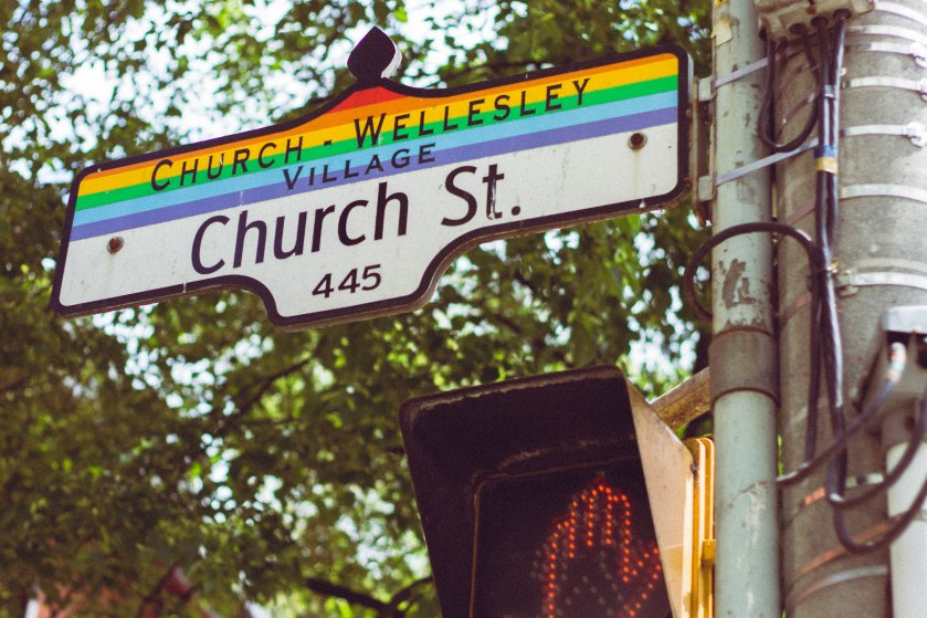toronto, gay, village, church street, rainbow
