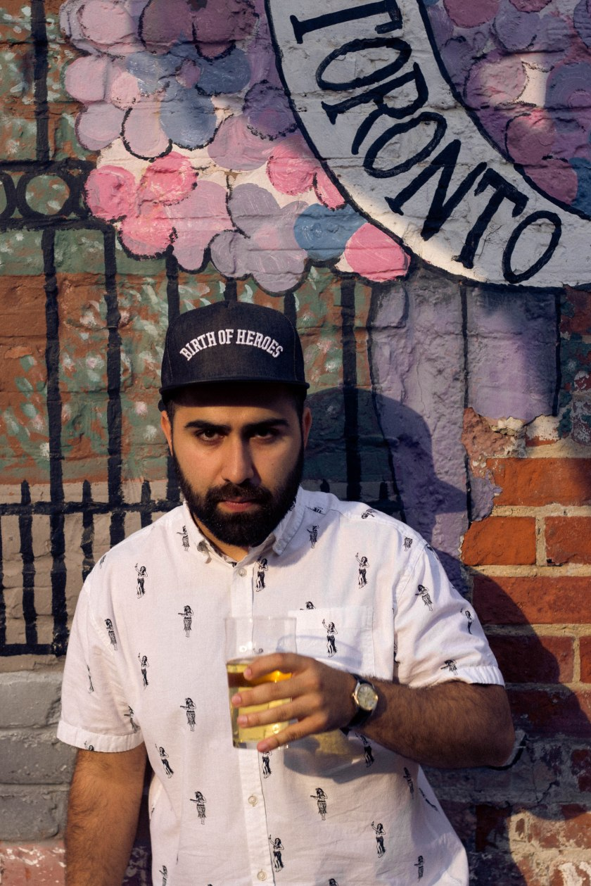 Portrait, Man, Toronto