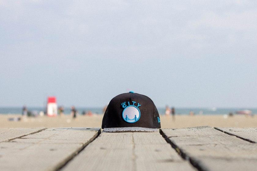 hat, beach, still life, toronto, city