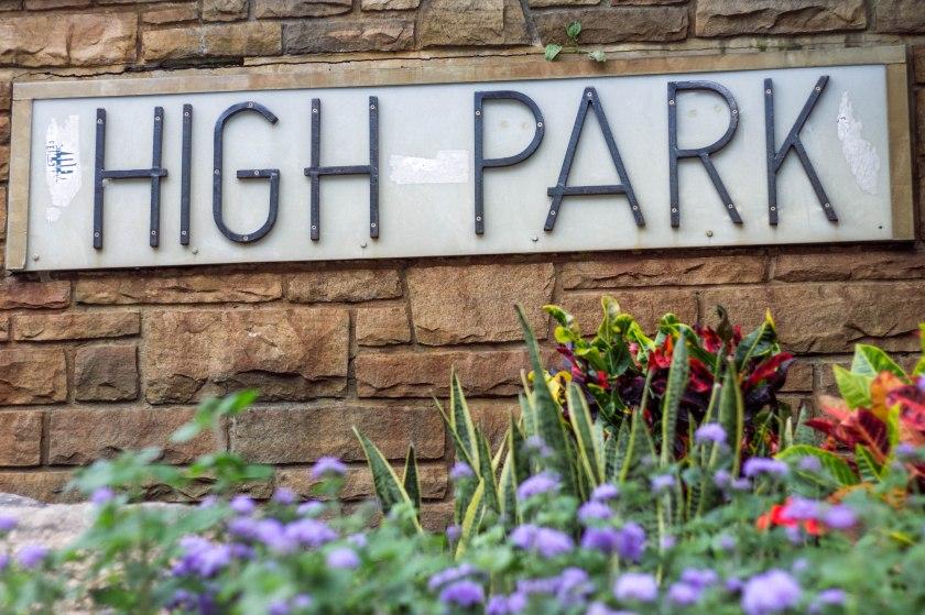 sign, park, toronto, high park