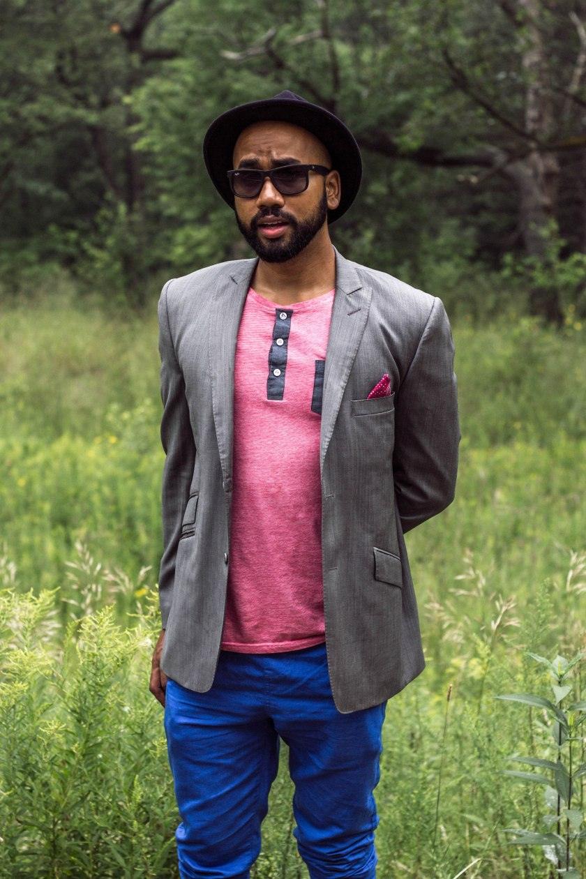 Portrait, style, fashion, park, man, toronto