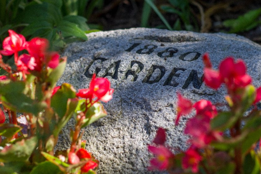 garden, stone