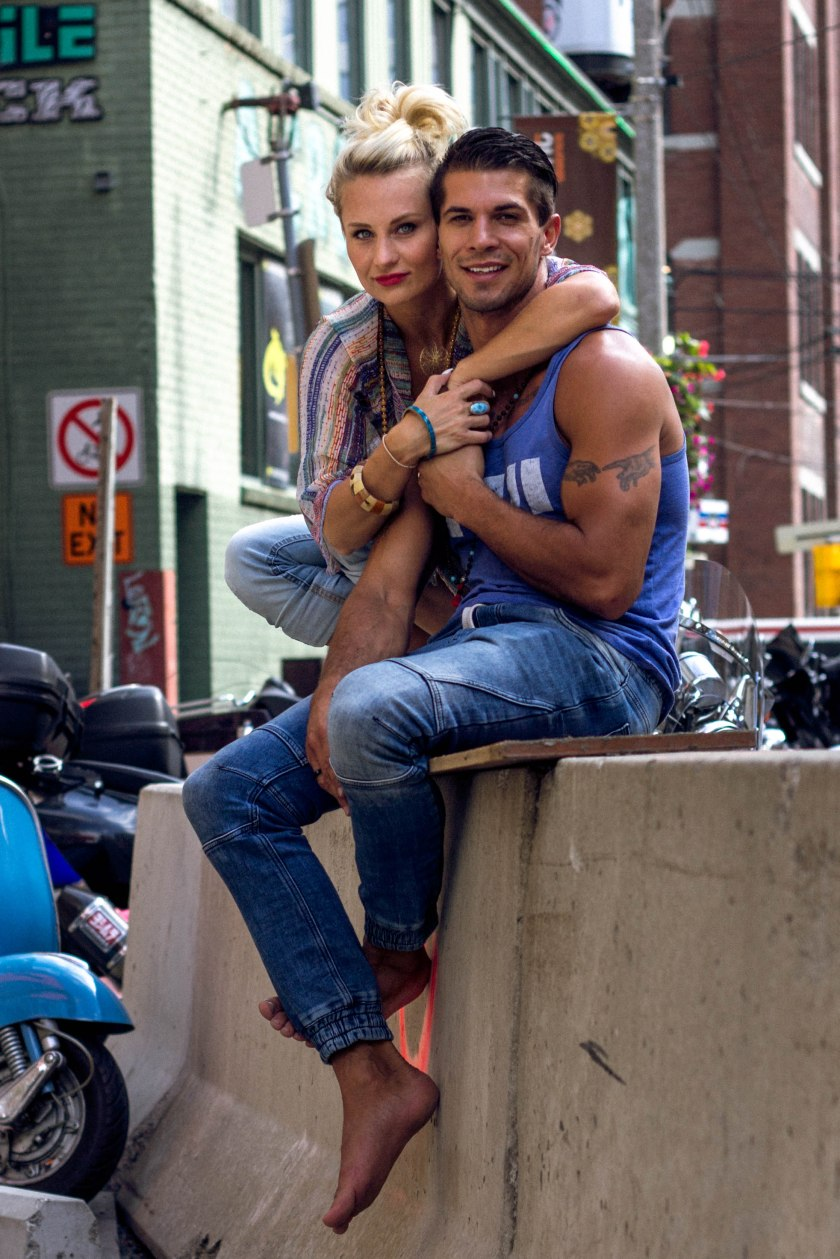 Portrait, Pose, Toronto, Couple